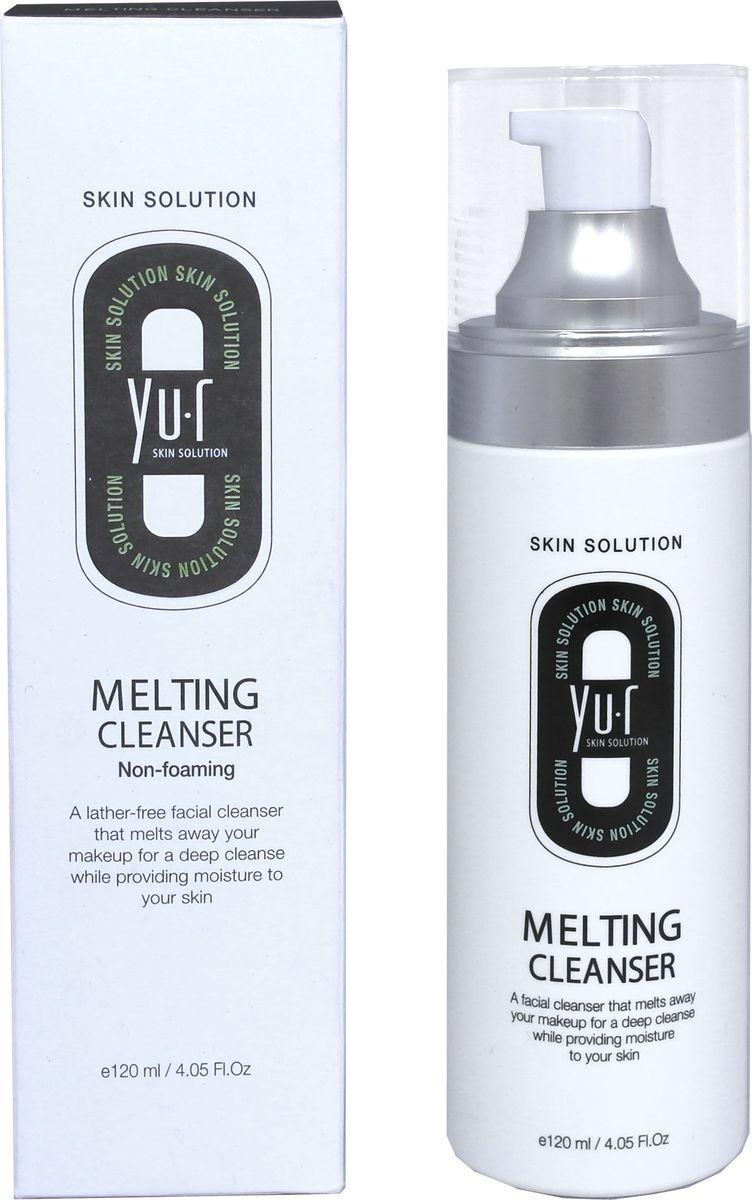 Yu.R, Тающий очищающий гель для снятия макияжа, Melting Cleanser, 120 мл8809290736147Тающий, очищающаяпенкадля снятия макияжа – это инновационное средство очищения кожи. Пенкане содержит мыла, при этом он эффективно и деликатно удаляет загрязнения, остатки макияжа и омертвевшие клетки, не лишая кожу защитного слоя, и поддерживая ее естественный рН баланс. Пенка не пересушивает кожу и не оставляет ощущения стянутости, что особенно важно для обладательниц чувствительной кожи лица. Достаточно лишь нанести гель на лицо и дождаться, когда он полностью растворит загрязнения.