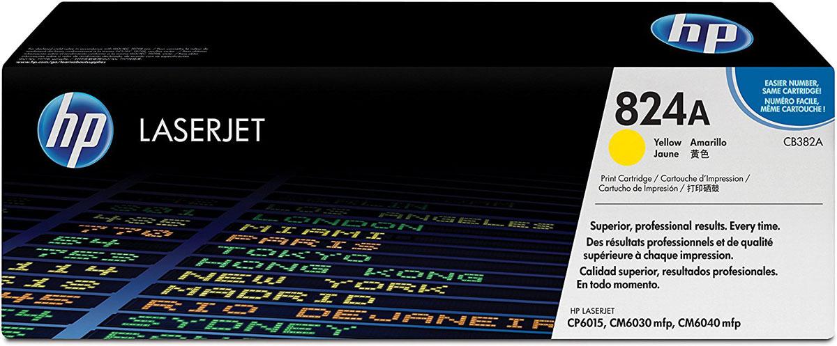 HP CB382A (824A), Yellow тонер-картридж для Color LaserJet CP6015/CM6030/CM6040CB382AБлагодаря улучшенному тонеру ColorSphere тонер-картридж HP CB382A (824A) обеспечивает быстрое получение превосходных результатов. Благодаря стабильной производительности и экономящим время функциям управления расходными материалами использование оригинальных расходных материалов HP повышает эффективность вашей работы.Разработано для соответствия различным требованиям. Улучшенный тонер ColorSphere обеспечивает стабильные результаты, равномерный глянец и насыщенные цвета. Великолепные результаты для любого типа печати – от ежедневной деловой документации до профессиональной рекламной продукции.Надежная печать повышает производительность офиса. Тонер HP ColorSphere и интеллектуальный картридж обеспечивают неизменно высокую скорость печати и великолепные результаты. Бесперебойная печать экономит время, увеличивает производительность и снижает общие затраты на печать.Функции управления оригинальных картриджей HP обеспечивают стабильную работу офиса. Встроенные картриджи с интеллектуальной системой позволяют принтеру отслеживать использование и подавать сигналы при низком уровне расходных материалов.