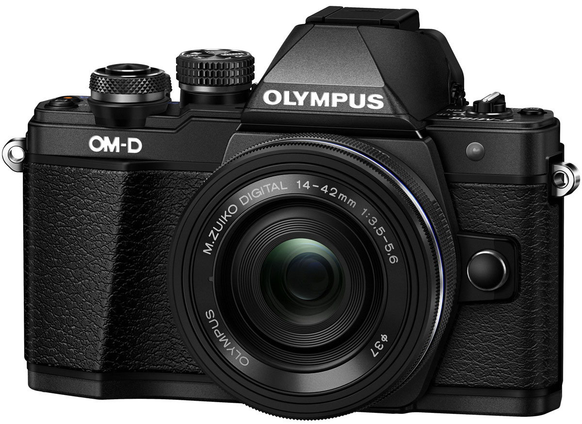 Olympus OM-D E-M10 Mark II Kit 14-42 EZ, Black цифровая фотокамера