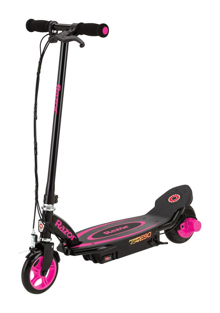 цена на Электросамокат Razor Power Core E90, цвет: розовый