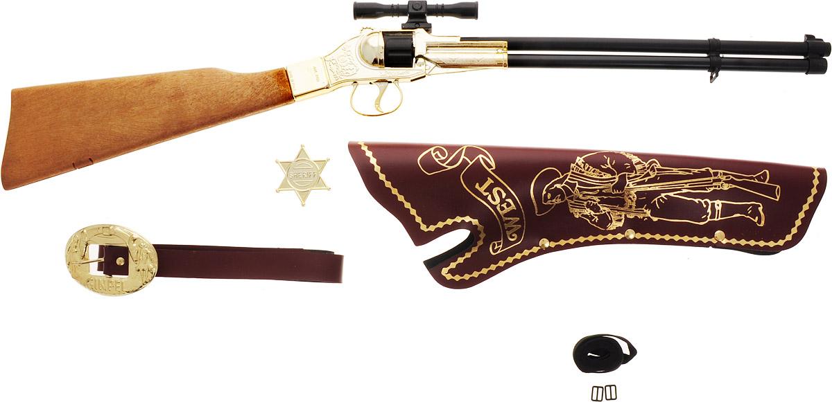 Villa Набор игрушечного оружия Шериф 4 предмета - Игрушечное оружие