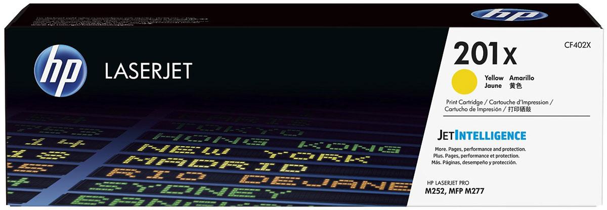 HP CF402X (201X), Yellow тонер-картридж для Color LaserJet Pro M252/M277CF402XОригинальные лазерные картриджи увеличенной емкости HP 201X с технологией JetIntelligence оснащены инновационными средствами проверки подлинности, а также гарантируют профессиональное качество материалов и высокую скорость печати. Будьте уверены, что извлекаете максимум выгоды из каждого картриджа. Лазерные картриджи повышенной емкости HP LaserJet с технологией JetIntelligence обеспечат непревзойденную производительность и точность информации об уровне расхода тонера.Количество высококачественных документов, которые вы сможете напечатать, превзойдет все ожидания. Тонер ColorSphere 3 был специально разработан для повышения производительности принтера. Низкая температура плавления гарантирует профессиональное качество печати.Все оригинальные лазерные картриджи HP LaserJet с поддержкой JetIntelligence оснащены эксклюзивной технологией HP по борьбе с поддельной продукцией. При установке картриджа в принтер его подлинность проверяется автоматически.