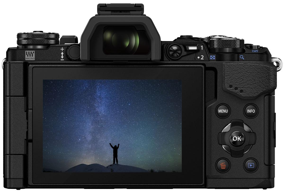 Olympus OM-D E-M5 Mark II Kit 12-50, Blackцифровая фотокамера Olympus