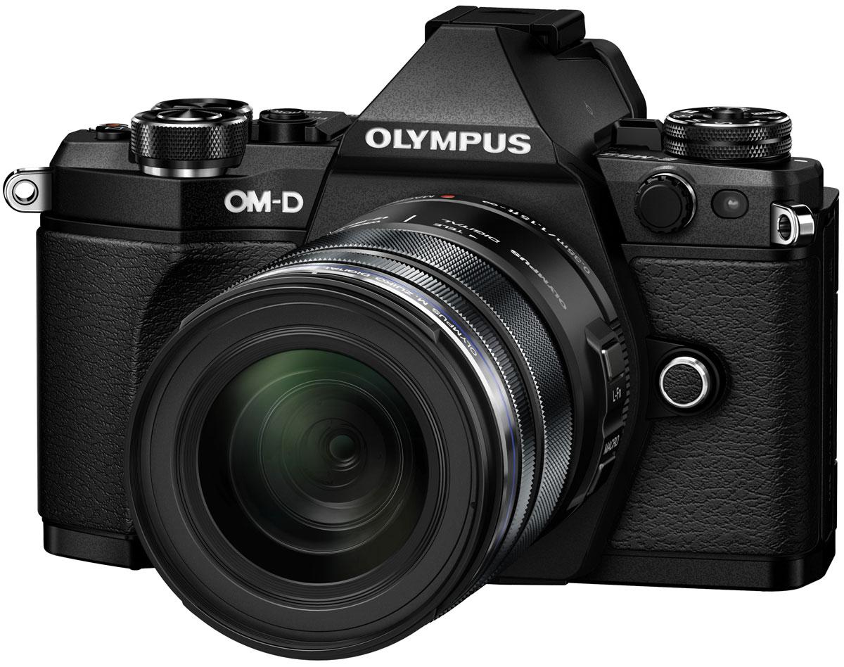 Olympus OM-D E-M5 Mark II Kit 12-50, Black цифровая фотокамераV207042BE000Камера Olympus OM-D E-M5 Mark II — это портативное защищенное устройство. Она не только легкая (вес около 417 г), но и обладает совершенной конструкцией. Благодаря защите от пыли/брызг/низких температур матушка природа не будет беспокоить вас во время съемки фото или видео. А компактный размер позволит вам быть в центре внимания, не выделяясь из толпы.Лучший в мире стабилизатор изображения (Стандарт CIPA на февраль 2015 г.) идеально подходит для съемки четких фотографий и видеороликов при недостаточном освещении и без штатива. Вперед, назад, вправо, влево. Куда бы не двигалась камера, встроенный 5-осевой стабилизатор предотвратит появление размытий. Он даже позволит получать четкую картинку в видоискателе для точного кадрирования.Избавьтесь от громоздких стабилизаторов, которые обычно используются при съемке видео с качеством фильма. Лучший в мире 5-осевой стабилизатор изображения камеры E-M5 Mark II — все, что нужно для съемки роликов. Теперь вы можете делать фотографии одновременно со съемкой видеоролика. Высокая скорость передачи бит до 77 Мб и высокая частота позволяют вести запись роликов в Full HD-качестве.Чем выше разрешение, тем лучше отображаются мелкие детали. Поэтому камера E-M5 Mark II поддерживает разрешение снимков до 40 МП. Сделайте 9 последовательных снимков и объедините их в один. Этот способ идеален для фотографирования предметов искусства, пейзажей и многого другого!Тип сенсора: 4/3 МОП (MOS) - сенсор реального изображения Формат изображения: 4:3 / 3:2 / 16:9 / 6:6 / 3:4 Процессор: TruePic VII Защита от пыли: Ультразвуковой волновой фильтр Компенсация экспозиции: +/- 5 EV (1, 1/2, 1/3 ступени) Технология коррекции теней Встроенный стереомикрофон с фукцией подавления шума Формат записи звука: Стерео РСМ/16 бит, 48 кГц, формат Wave