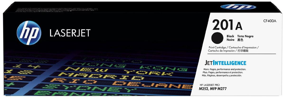 HP CF400A (201A), Black тонер-картридж для Color LaserJet Pro M252/M274/M277CF400AОригинальные лазерные картриджи HP 201A с технологией JetIntelligence оснащены инновационными средствами проверки и отличаются потрясающей производительностью при высокой скорости работы.Будьте уверены, что извлекаете максимум выгоды из каждого картриджа. Оригинальные лазерные картриджи HP LaserJet с технологией JetIntelligence гарантируют точное отслеживание уровня расхода тонера.Количество высококачественных документов, которые вы сможете напечатать, превзойдет все ожидания. Тонер ColorSphere 3 был специально разработан для повышения производительности принтера. Низкая температура плавления гарантирует профессиональное качество печати.Все оригинальные лазерные картриджи HP LaserJet с поддержкой JetIntelligence оснащены эксклюзивной технологией HP по борьбе с поддельной продукцией. При установке картриджа в принтер его подлинность проверяется автоматически.