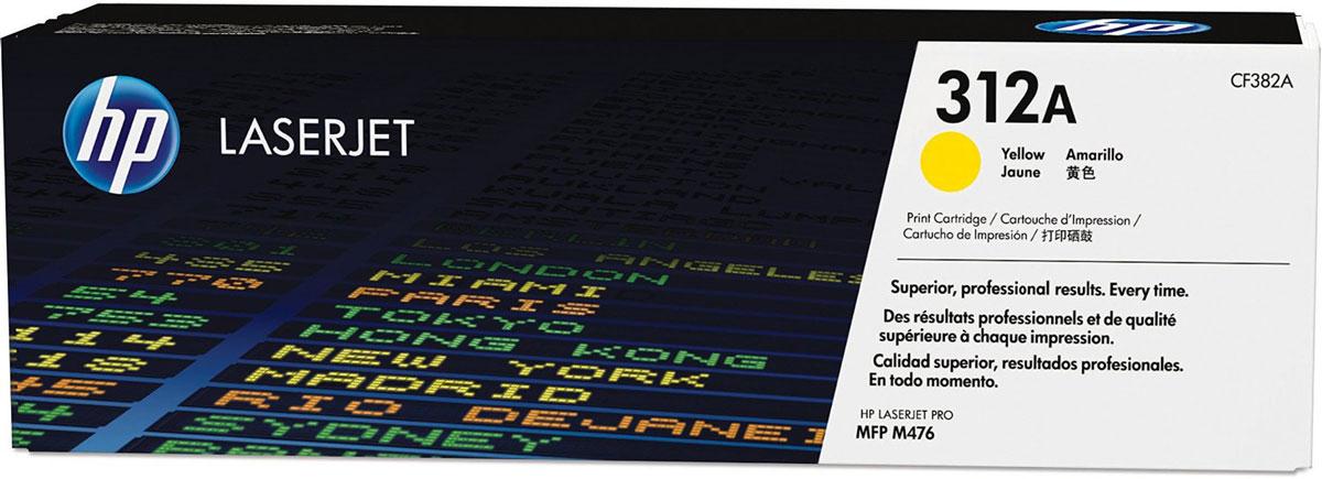 HP CF382A (312A), Yellow тонер-картридж для Color LaserJet Pro M476CF382AС помощью тонер-картриджей HP 312A вы всегда сможете добиться профессионального качества документов и рекламных материалов. Экономьте время и расходные материалы, повышая при этом производительность домашней и офисной печати. Оригинальные лазерные картриджи HP LaserJet — это неизменная гарантия качества. Забудьте о повторной печати, напрасно потраченных расходных материалах и дорогостоящих задержках, которые могут возникнуть при работе с картриджами сторонних производителей.Не теряйте ни минуты. На замену оригинальных лазерных картриджей HP LaserJet и продолжения печати потребуется всего несколько секунд. Ведь эти картриджи создавались специально для быстрой и простой установки в МФУ HP LaserJet.