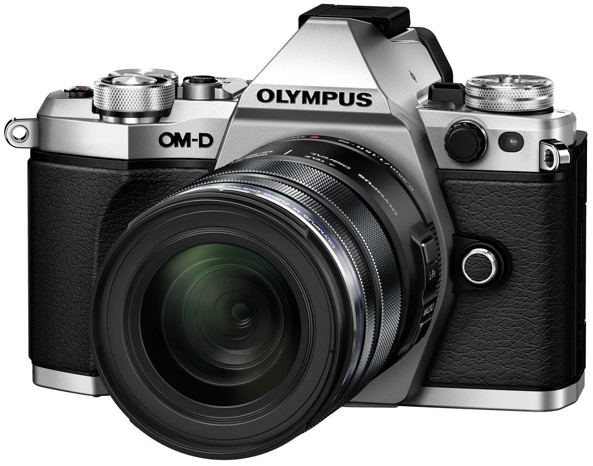 Olympus OM-D E-M5 Mark II Kit 12-50, Silver цифровая фотокамера фотоаппарат olympus om d e m10 mark ii kit 14 42 mm f 3 5 5 6 ii r black black