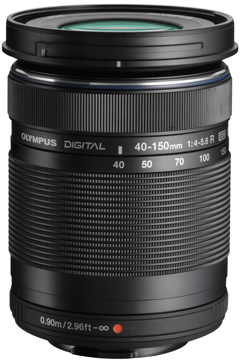 Olympus M.Zuiko Digital ED 40-150mm 1:4.0-5.6 R, Black объективV315030BE000Компактный объектив Olympus M.Zuiko Digital ED 40-150mm 1:4.0-5.6 R идеально подойдет как для съемки крупным планом, так и для пейзажных фото; как в помещении, так и на открытом воздухе. Механизм MSC, встроенный в объектив, позволит вам также снимать качественное видео. В сочетании с объективом 14-42mm вы будете готовы к любым жанрам и условиям съемки.Механизм MSC - это продукт передовой технологии, который дает объективам быстрый и бесшумный автофокус. Фокусирующая линза перемещается с помощью металлического вала и винтового стержня, а не шестерни - именно она и является причиной шума.