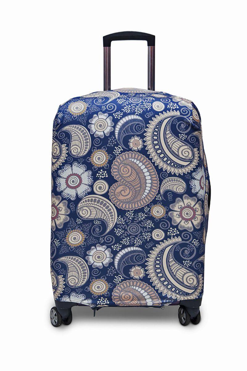 """Чехол для чемодана Fancy Armor """"Travel Suit Eco. Немо"""", размер M/L (60-70 см)"""