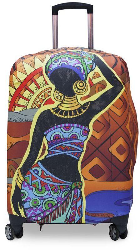 Чехол для чемодана Fancy Armor Travel Suit Eco. Африка, размер M/L (60-70 см)FTS_ECO_019Чехол Fancy Armor Travel Suit Eco. Африка предназначен для чемоданов высотой52-65 см, выполнен из спандекса - легкого, эластичного и стойкого к разрывуматериала, плотностью 240 г/см3.Универсальный чехол для большого чемодана защищает чемодан ивещи от грязи и повреждений, заменяет пленку в аэропорту и позволяетсэкономить время и деньги на упаковке багажа, а также поможет безошибочноотличить свой чемодан.Запатентованная выкройка обеспечивает идеальную посадку, а высокое качествопошива и используемых материалов гарантируетдолгую службу чехла. Обработанные силиконовой резинкой вырезы специальнойформы обеспечивают удобный доступ ко всем ручкам чемодана.
