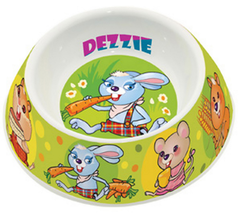 Миска для грызунов Dezzie Вкусный обед, 100 мл домик для кошек dezzie 5636054