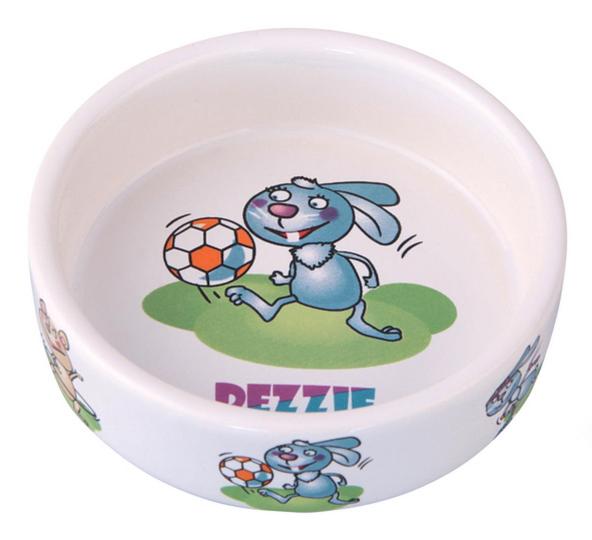 Миска для грызунов Dezzie Футболист, 110 мл домик для кошек dezzie 5636054