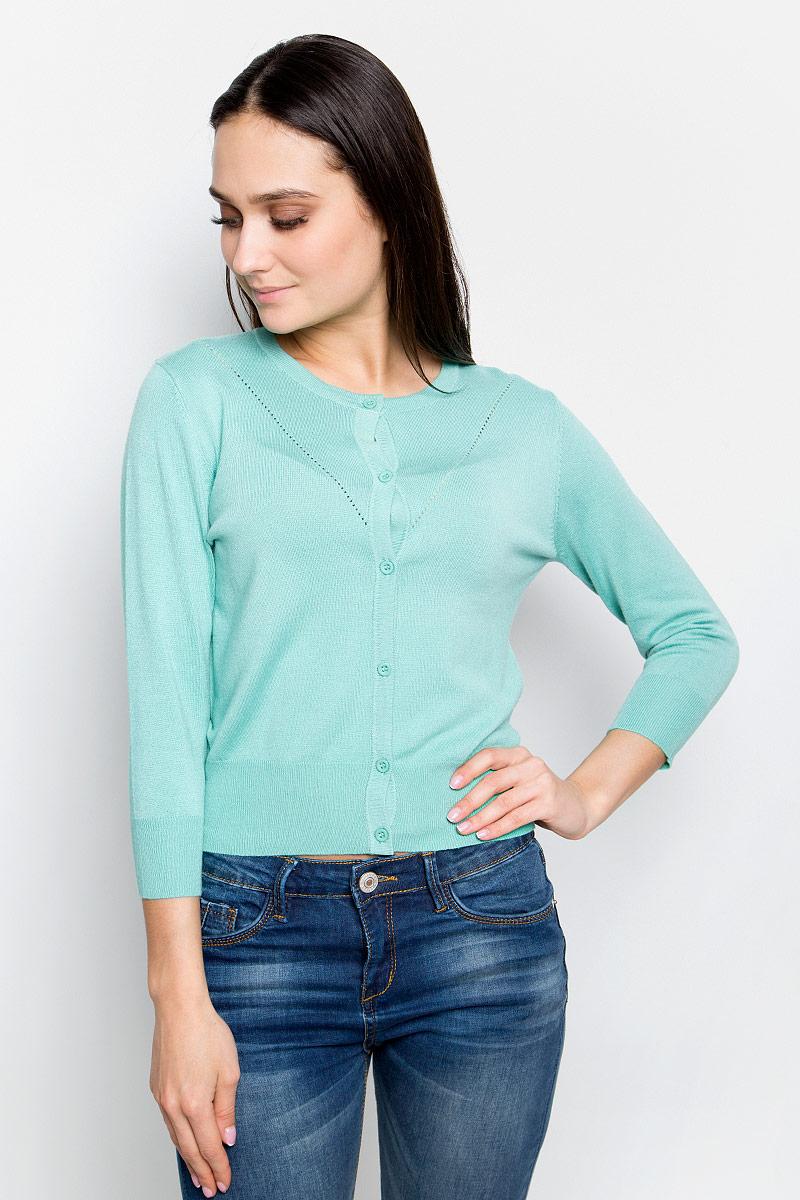 Кардиган женский Baon, цвет: бледно-зеленый. B147003. Размер XL (50) кардиган quelle baon 1017726
