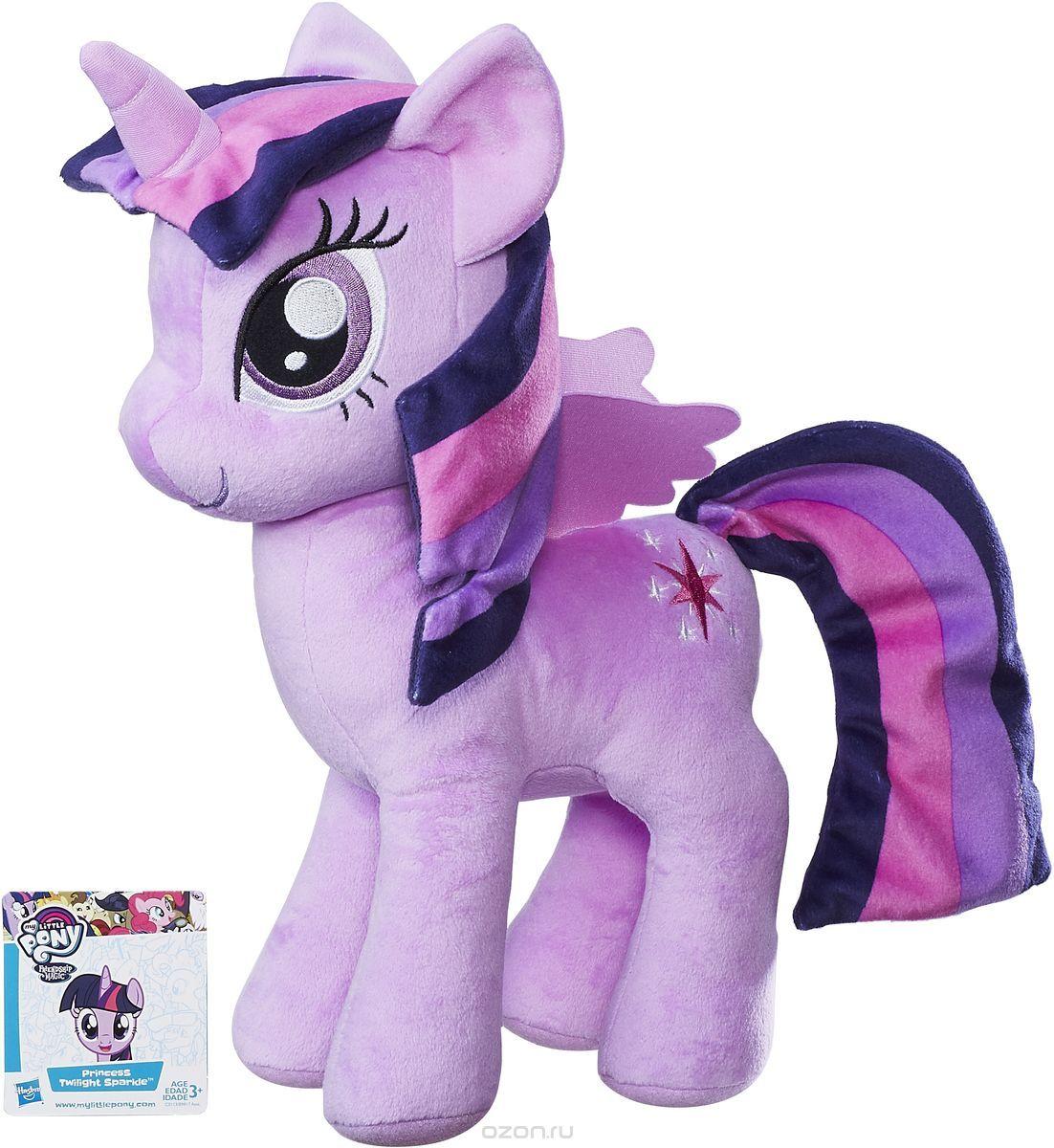 My Little PonyМягкая игрушка Плюшевые пони Твайлайт Спаркл 30 см