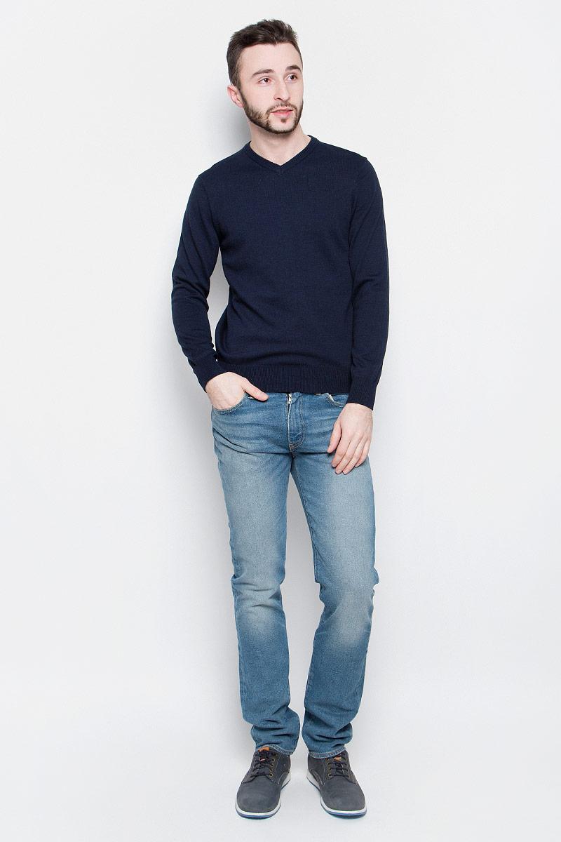 Джемпер мужской Baon, цвет: темно-синий. B637202. Размер L (50) шорты baon р l 50
