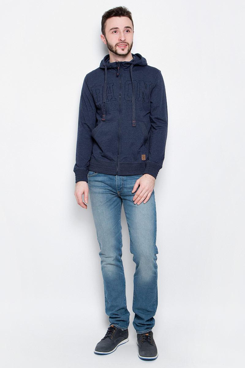 Толстовка мужская Baon, цвет: темно-синий. B617302. Размер L (50) шорты baon р l 50
