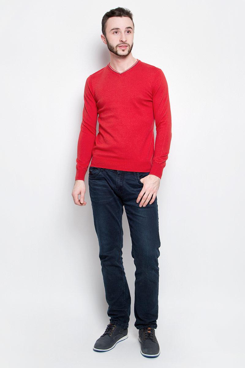 Джемпер мужской Baon, цвет: красный. B637004. Размер XL (52) baon весна лето 2017 vogue