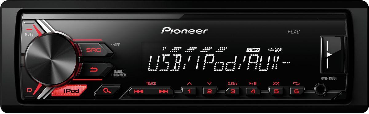 Pioneer MVH-190UI автомагнитола