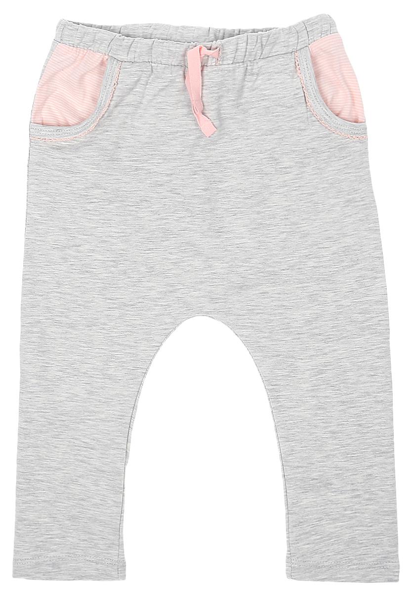 Брюки для девочки Tom Tailor, цвет: серый. 6829133.00.21_8353. Размер 86 брюки tom tailor