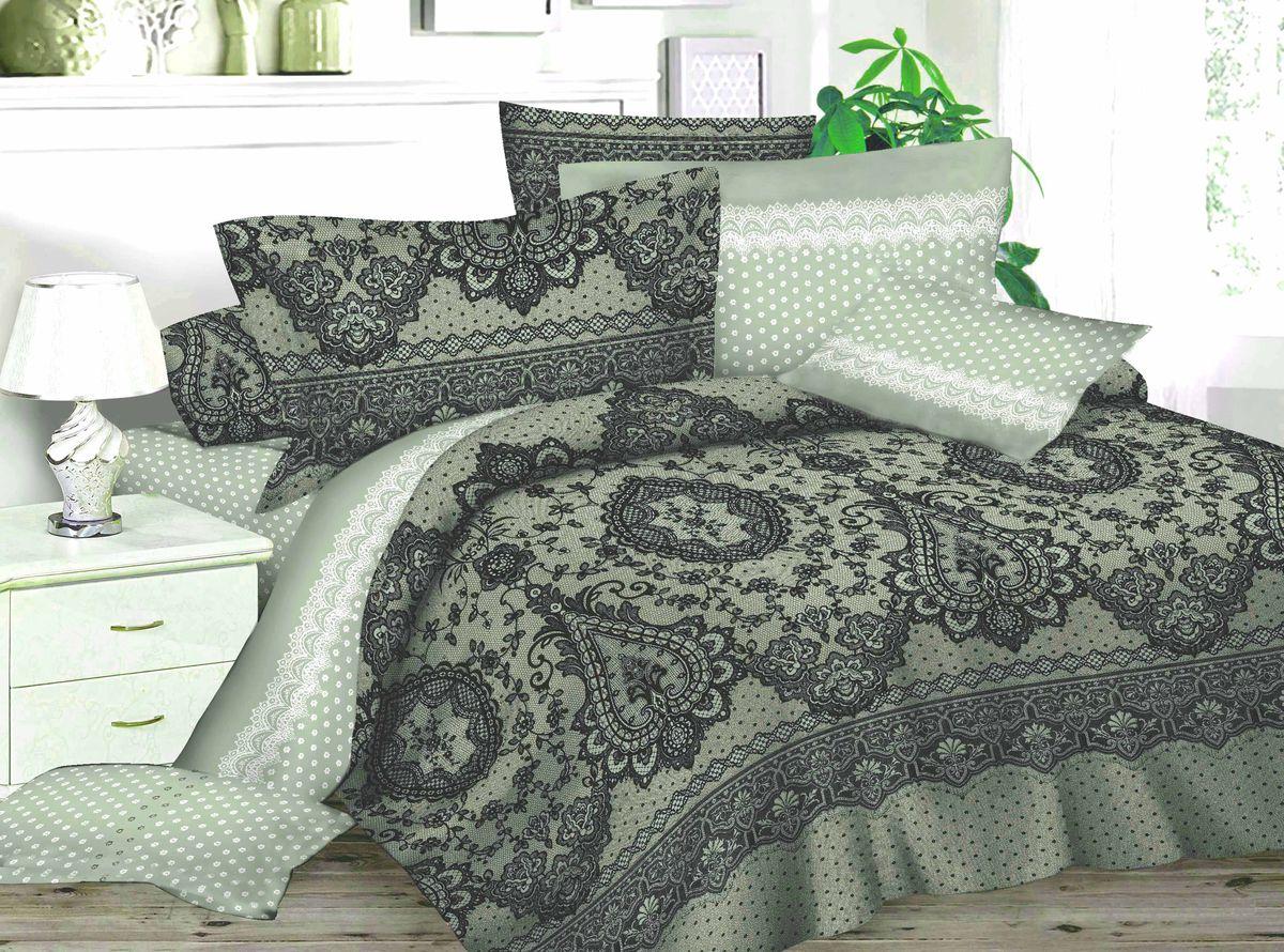 Комплект белья Amore Mio Winter, 1,5-спальный, наволочки 70x70, цвет: серый, черный, белый82882Комплект постельного белья Amore Mio является экологически безопасным для всей семьи, так как выполнен из сатина (100% хлопок). Постельное белье оформлено оригинальным рисунком и имеет изысканный внешний вид. Сатин - это ткань сатинового (атласного) переплетения нитей. Имеет гладкую, шелковистую лицевую поверхность, на которой преобладают уточные нити (уток - горизонтально расположенные в тканом полотне нити). Сатин изготавливается из крученой хлопковой нити двойного плетения. Он чрезвычайно приятен на ощупь, не электризуется и не скользит по кровати. Сатин прекрасно сохраняет форму и не мнется, отлично пропускает воздух, что позволяет телу дышать и дарит здоровый и комфортный сон.Комплект состоит из пододеяльника, простыни и двух наволочек.