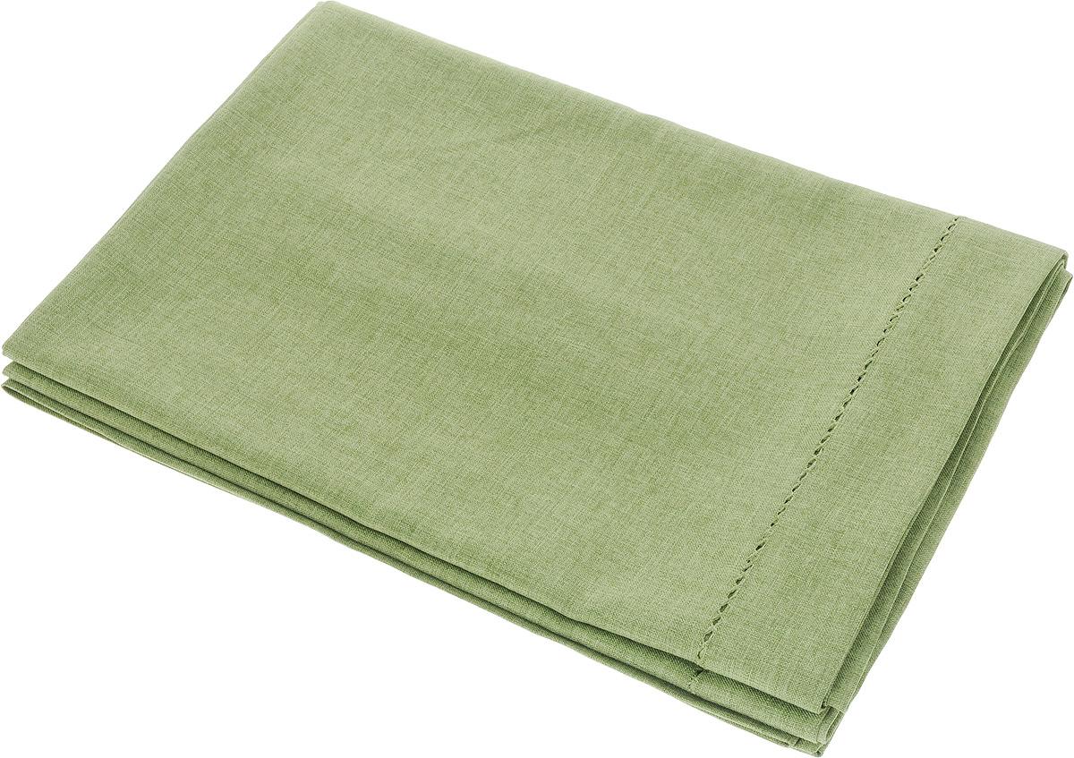 Скатерть Schaefer, прямоугольная, цвет: зеленый, 160 x 220 см. 07602-40807602-408Прямоугольная скатерть Schaefer, выполненная из полиэстера, станет украшением кухонного стола. Вдоль края изделие оформлено декоративной перфорацией. За текстилем из полиэстера очень легко ухаживать: он не мнется, не садится и быстро сохнет, легко стирается, более долговечен, чем текстиль из натуральных волокон.Использование такой скатерти сделает застолье торжественным, поднимет настроение гостей и приятно удивит их вашим изысканным вкусом. Также вы можете использовать эту скатерть для повседневной трапезы, превратив каждый прием пищи в волшебный праздник и веселье. Это текстильное изделие станет изысканным украшением вашего дома!