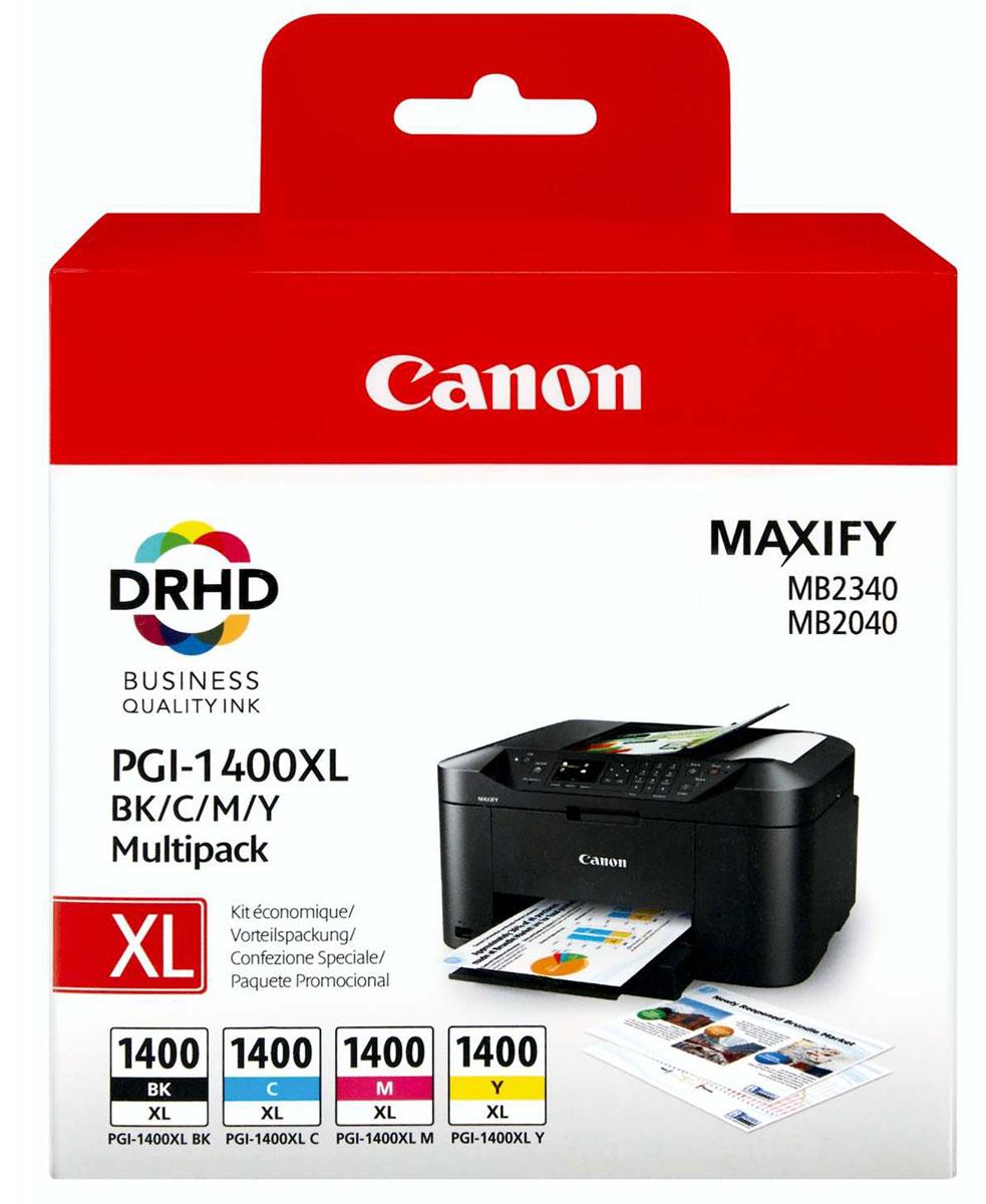Canon PGI-1400XL EMB MULTI картридж для Maxify МВ2040/МВ2340 чернильный картридж canon pgi 29pm