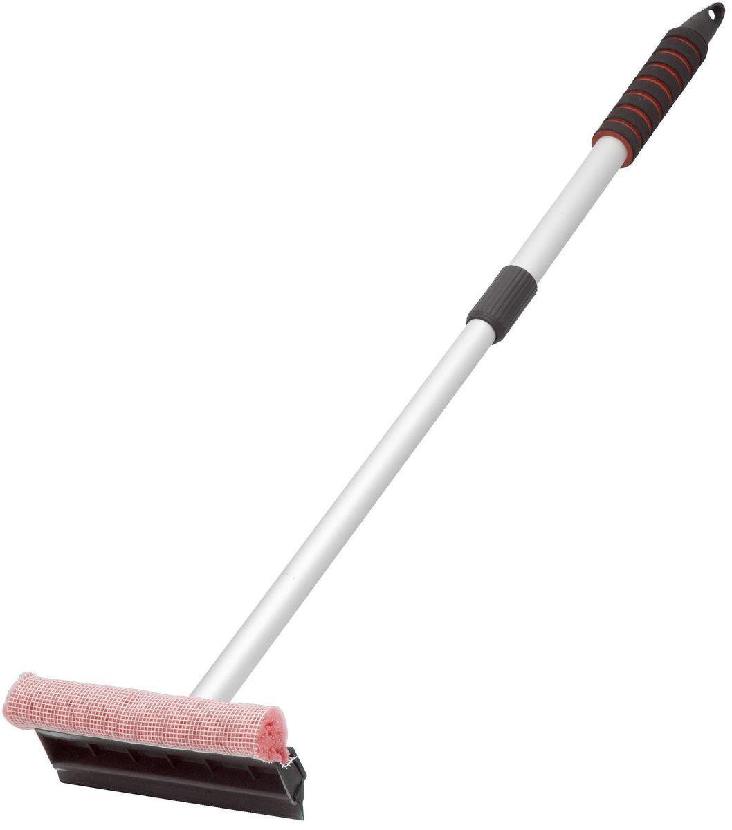 Водосгон Главдор, с телескопической ручкой, цвет: красныйGL-Алюминиевый водосгон Главдор с удобным держателем из пенополиэтилена, снабжен резиновым скребком и поролоновой губкой для эффективной очистки загрязненных поверхностей.Длина телескопической ручки: 55 - 85см.