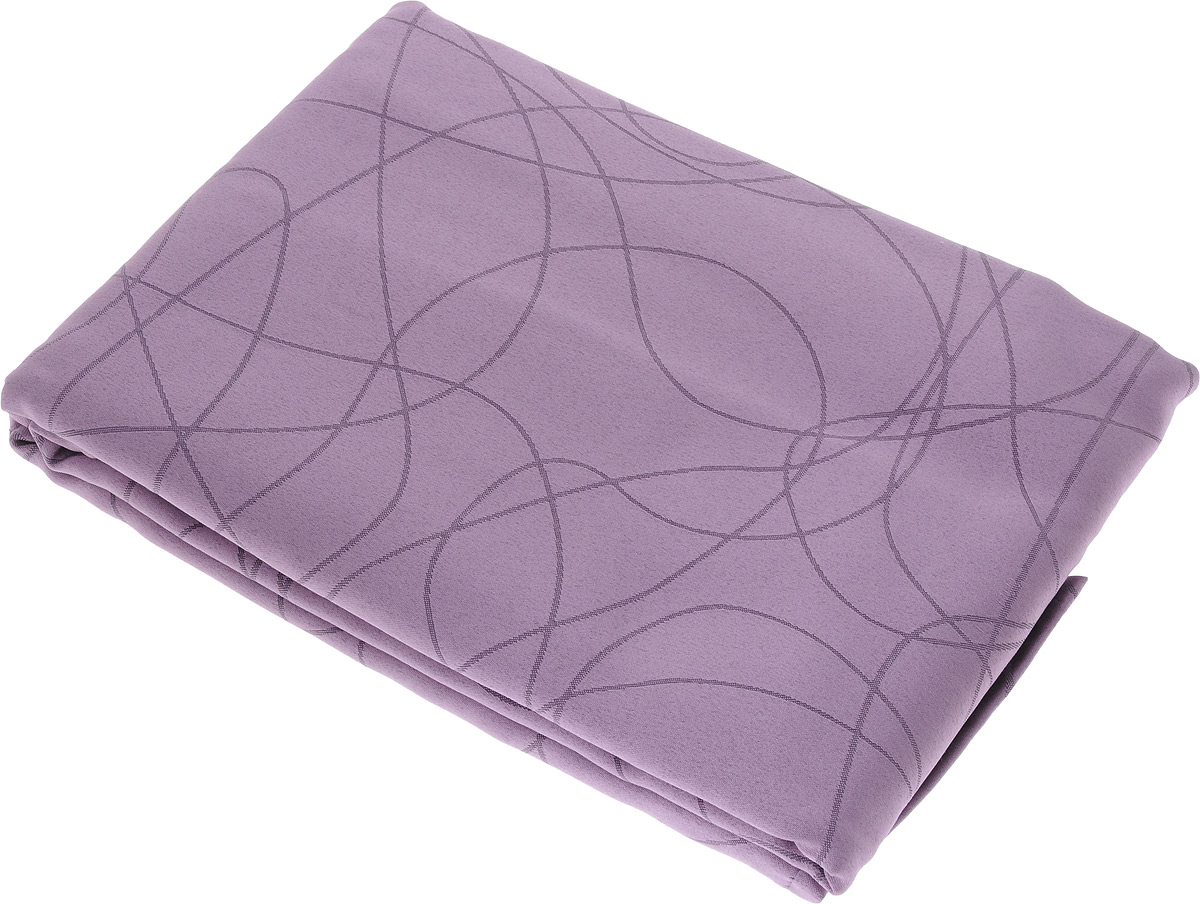 Скатерть Schaefer, прямоугольная, цвет: сиреневый, 150 x 250 см. 07748-45107748-451Прямоугольная скатерть Schaefer, выполненная из полиэстера с оригинальным рисунком, станет изысканным украшением кухонного стола. За текстилем из полиэстера очень легко ухаживать: он не мнется, не садится и быстро сохнет, легко стирается, более долговечен, чем текстиль из натуральных волокон.Использование такой скатерти сделает застолье торжественным, поднимет настроение гостей и приятно удивит их вашим изысканным вкусом. Также вы можете использовать эту скатерть для повседневной трапезы, превратив каждый прием пищи в волшебный праздник и веселье. Это текстильное изделие станет изысканным украшением вашего дома!
