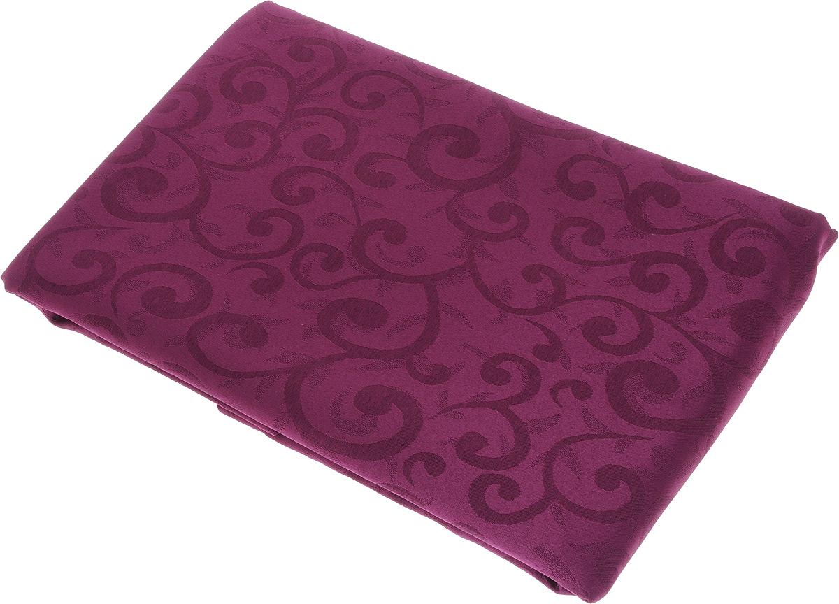 Скатерть Schaefer, круглая, цвет: сливовый, диаметр 170 см. 4161/Fb.044161/Fb.04 Скатерть, диаметр 170 смКруглая скатерть Schaefer, выполненная из полиэстера с оригинальным принтом, станет изысканным украшением стола.За текстилем из полиэстера очень легко ухаживать: он легко стирается, не мнется, не садится и быстро сохнет, более долговечен, чем текстиль из натуральных волокон. Изделие прекрасно послужит для ежедневного использования на кухне или в столовой, а также подойдет для торжественных случаев и семейных праздников. Стильный дизайн и качество исполнения сделают такую скатерть отличным приобретением для дома. Это текстильное изделие станет элегантным украшением интерьера!