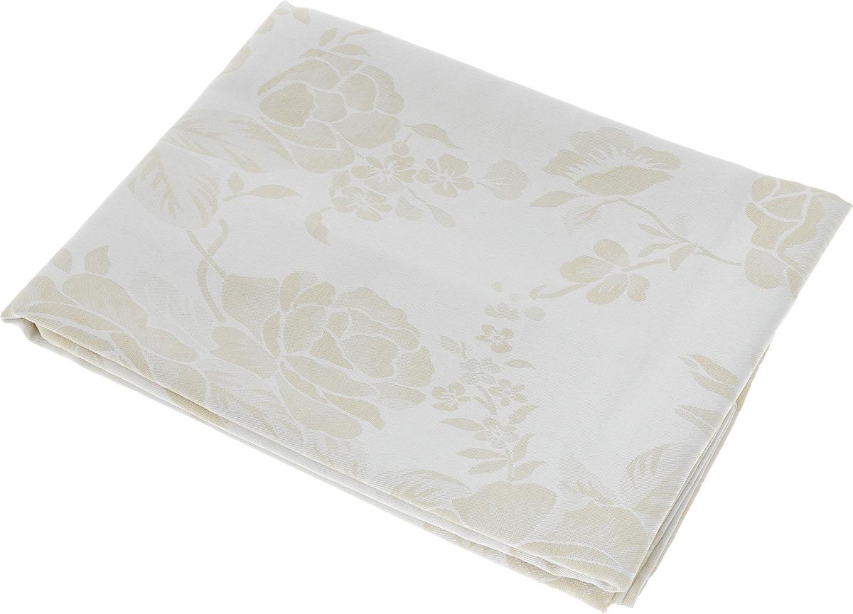Скатерть Schaefer, прямоугольная, цвет: молочный, бежевый, 130 х 170 см. 07837-42907837-429Прямоугольная скатерть Schaefer, выполненная из полиэстера с оригинальным рисунком, станет изысканным украшением кухонного стола. За текстилем из полиэстера очень легко ухаживать: он не мнется, не садится и быстро сохнет, легко стирается, более долговечен, чем текстиль из натуральных волокон.Использование такой скатерти сделает застолье торжественным, поднимет настроение гостей и приятно удивит их вашим изысканным вкусом. Также вы можете использовать эту скатерть для повседневной трапезы, превратив каждый прием пищи в волшебный праздник и веселье. Это текстильное изделие станет изысканным украшением вашего дома!