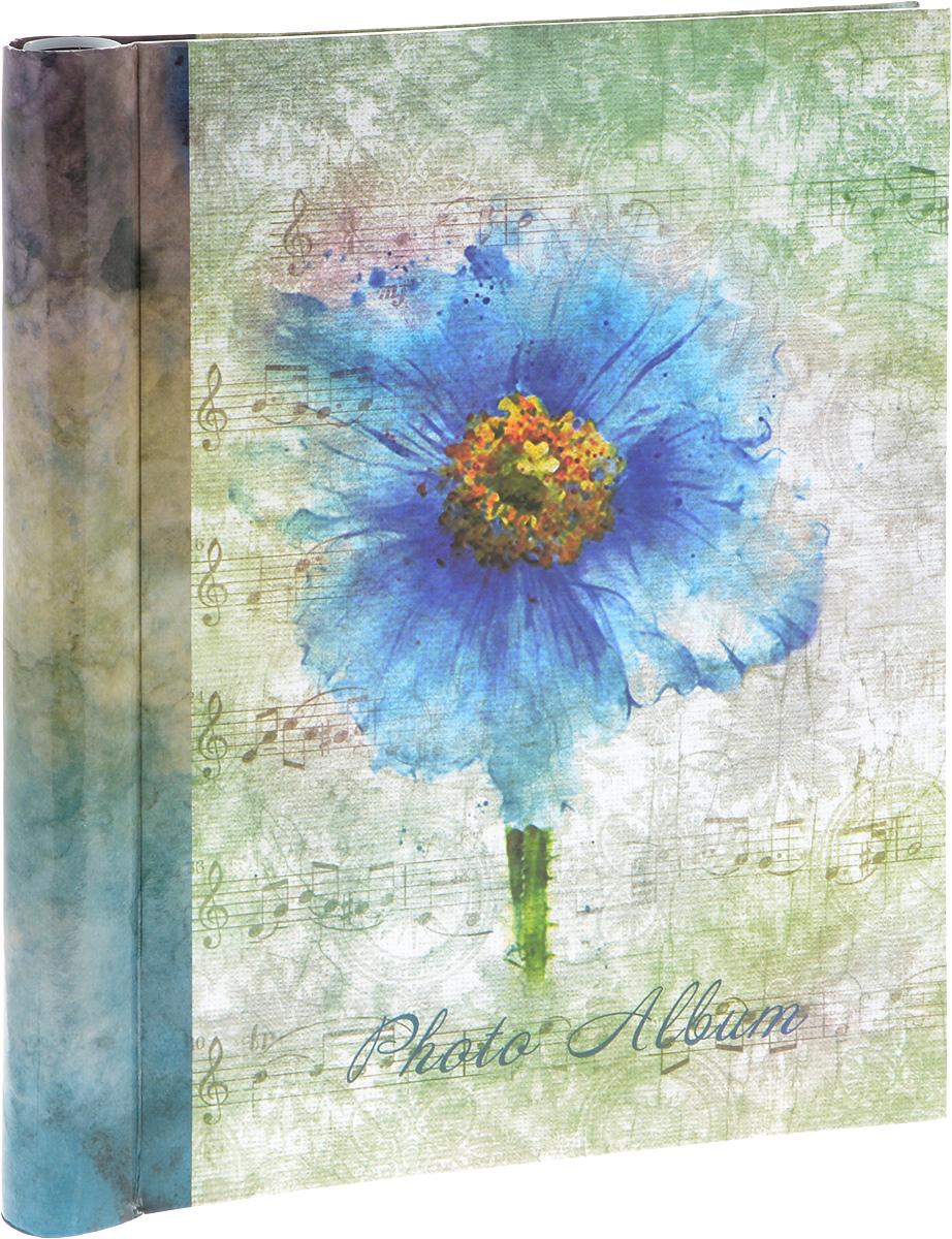 Фотоальбом Platinum Цветочная коллекция - 7, цвет: голубой, зеленый, 20 листов. 9821 чехол для sony xperia c4 uniq c2 sxc4gar c2wht