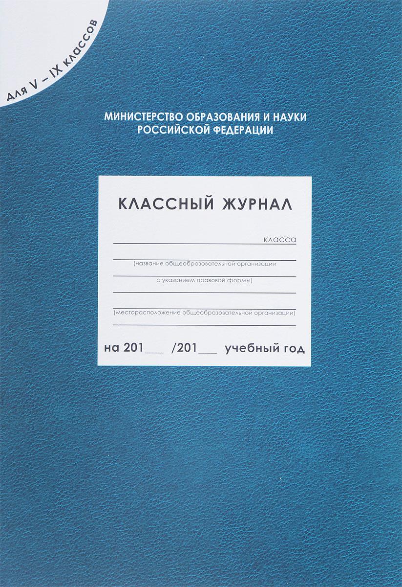 Классный журнал. 5-9 классы