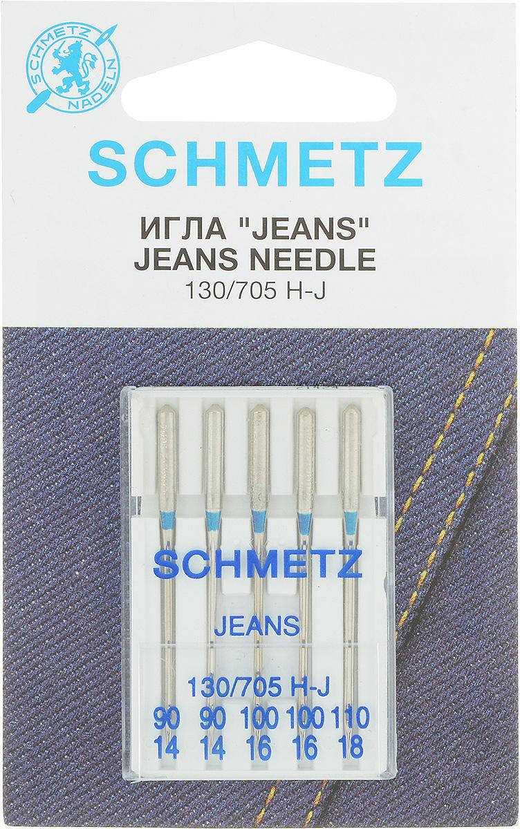 Иглы для швейных машин Schmetz, для джинсовой ткани, № 90-110, 5 шт22:30.FB2.VWSСпециальные иглы Schmetz, выполненные из высококачественной стали, подходят для бытовых швейных машин. В набор входят иглы, которые идеально подходят для работы с джинсовой тканью.В комплекте пластиковый футляр для переноски и хранения.Размер: 90 х 2, 100 х 2, 110 х 1.