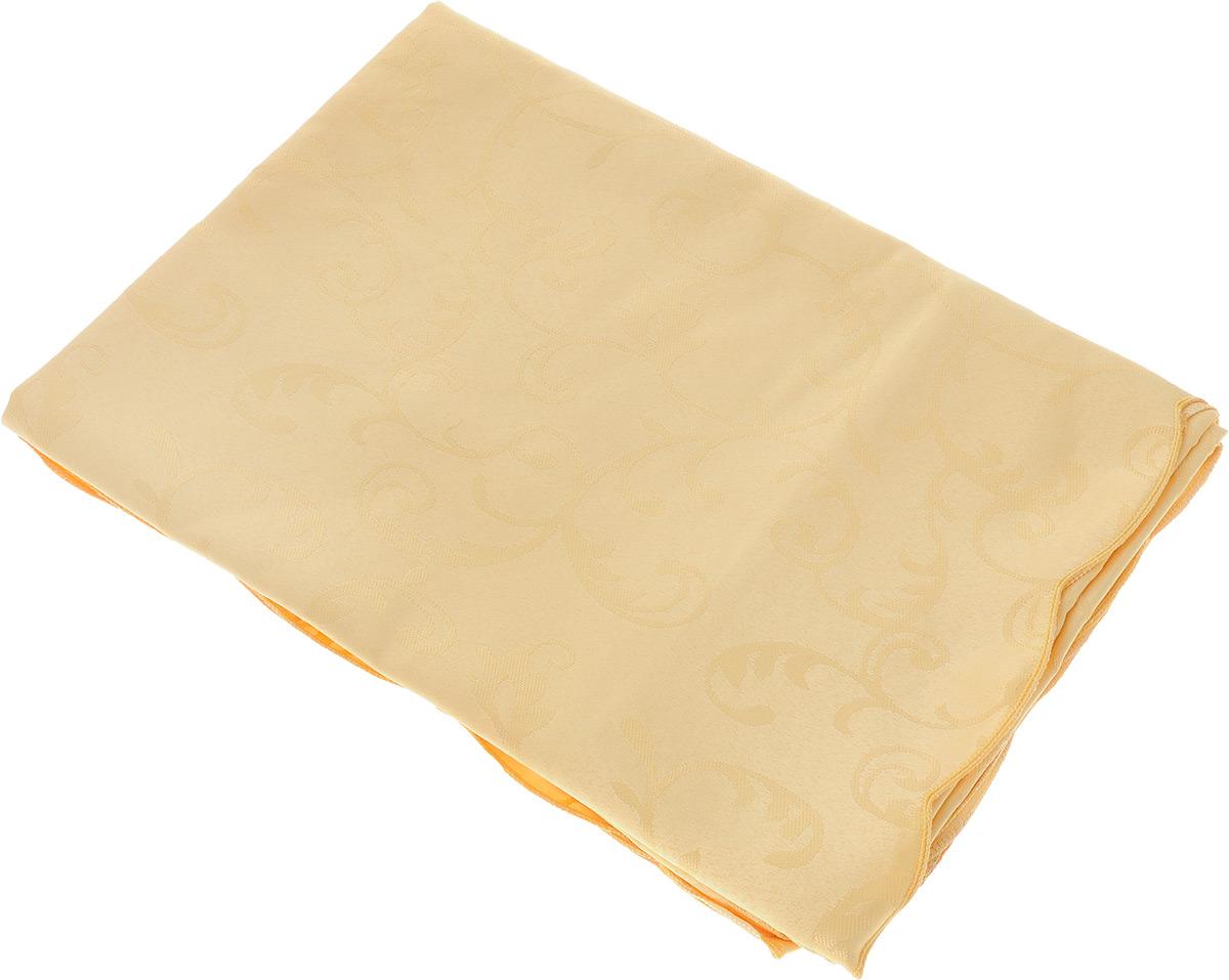 Скатерть Schaefer, прямоугольная, цвет: желтый, 130 x 190 см. 4121/Fb.05 скатерть schaefer прямоугольная цвет темно синий 130 x 220 см 4043