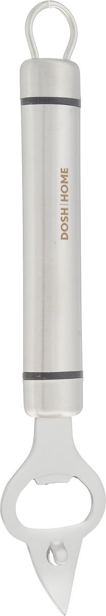 Открывалка для бутылок Dosh Home Orion, длина 21 см100115Открывалка для бутылок Dosh Home Orion - незаменимый аксессуар на любой кухне. Специальная форма изделия позволяет с легкостью открывать металлические крышки. Открывалка выполнена из высококачественной нержавеющей стали. Эргономичная ручка оснащена петелькой, с помощью которой вы можете подвесить изделие у себя на кухне в удобном месте. Можно мыть в посудомоечной машине.Длина открывалки: 21 см.