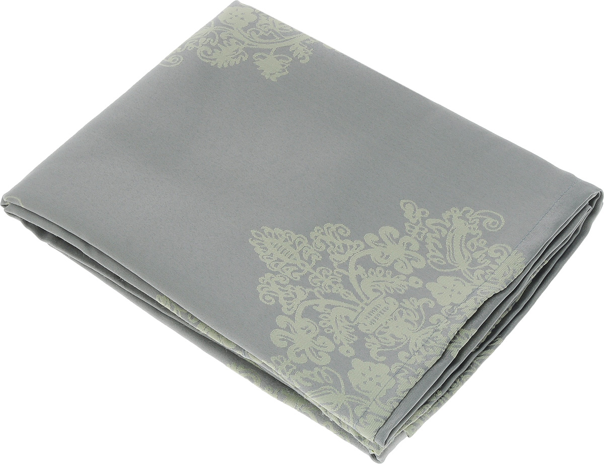 Скатерть Schaefer, прямоугольная, цвет: серый, светло-желтый, 160 х 220 см. 07810-40807810-408Прямоугольная скатерть Schaefer, выполненная из полиэстера с оригинальным рисунком, станет изысканным украшением кухонного стола. За текстилем из полиэстера очень легко ухаживать: он не мнется, не садится и быстро сохнет, легко стирается, более долговечен, чем текстиль из натуральных волокон.Использование такой скатерти сделает застолье торжественным, поднимет настроение гостей и приятно удивит их вашим изысканным вкусом. Также вы можете использовать эту скатерть для повседневной трапезы, превратив каждый прием пищи в волшебный праздник и веселье. Это текстильное изделие станет изысканным украшением вашего дома!