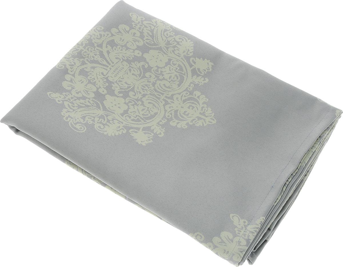 Скатерть Schaefer, квадратная, цвет: серый, желтый, 150 х 150 см. 07810-41607810-416Квадратная скатерть Schaefer, выполненная из полиэстера с оригинальным рисунком, станет изысканным украшением кухонного стола. За текстилем из полиэстера очень легко ухаживать: он не мнется, не садится и быстро сохнет, легко стирается, более долговечен, чем текстиль из натуральных волокон.Использование такой скатерти сделает застолье торжественным, поднимет настроение гостей и приятно удивит их вашим изысканным вкусом. Также вы можете использовать эту скатерть для повседневной трапезы, превратив каждый прием пищи в волшебный праздник и веселье. Это текстильное изделие станет изысканным украшением вашего дома!
