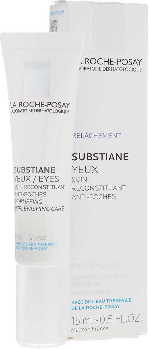 """La Roche-Posay Восстанавливающее средство для контура глаз для зрелой кожи Substiane [+] 15 мл2313Инновация для зрелой кожи Инновация для зрелой кожи: уникальное сочетание компонентов LINACTYL + PRO-XYLANE™ улучшает регенерацию кожи, воздействуя на ее структуру..Обеспечивает коже длительное чувство комфорта, возвращает ей сияющий вид. Клинические исследования подтвердили эффективное воздействие SUBSTIANE - кожа становится более подтянутой, """"мешки"""" под глазами уменьшаются."""