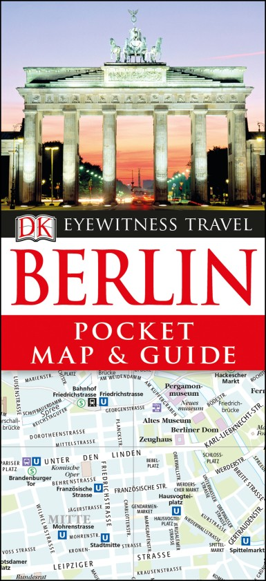 DK Eyewitness Pocket Map and Guide Berlin dk eyewitness travel guide berlin