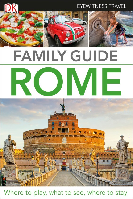 Фото Family Guide. Rome dk eyewitness top 10 travel guide scotland