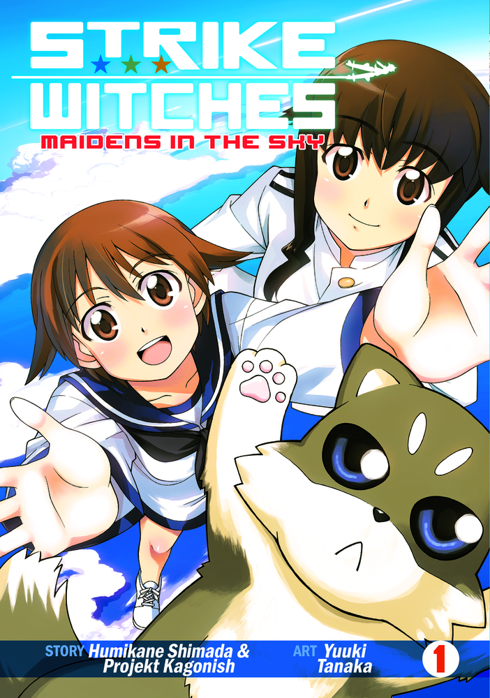 Strike Witches: Maidens in the Sky Vol. 1 witches abroad