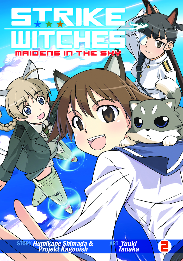 Strike Witches: Maidens in the Sky Vol. 2 witches abroad