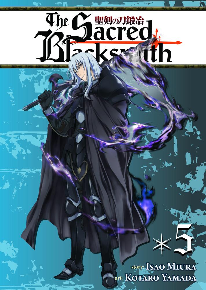 The Sacred Blacksmith Vol. 5 isao miura the sacred blacksmith vol 9