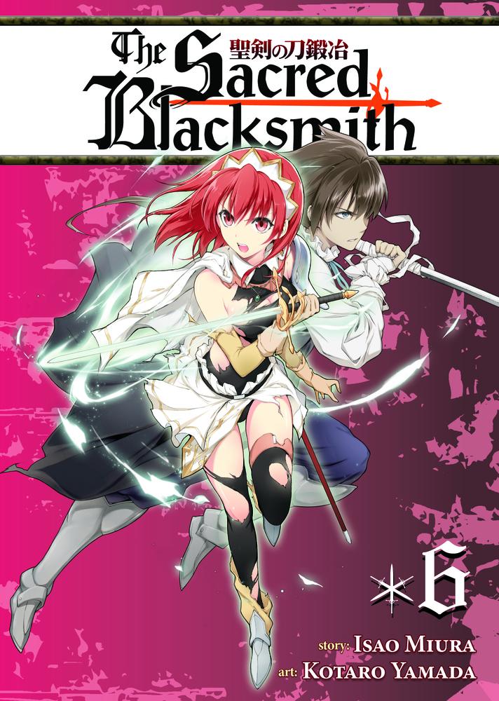 The Sacred Blacksmith Vol. 6 the sacred blacksmith vol 9