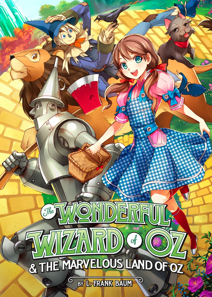 WONDERFUL WIZARD OF OZ & THE MARVELOUS LAND OF OZ the wonderful wizard of oz