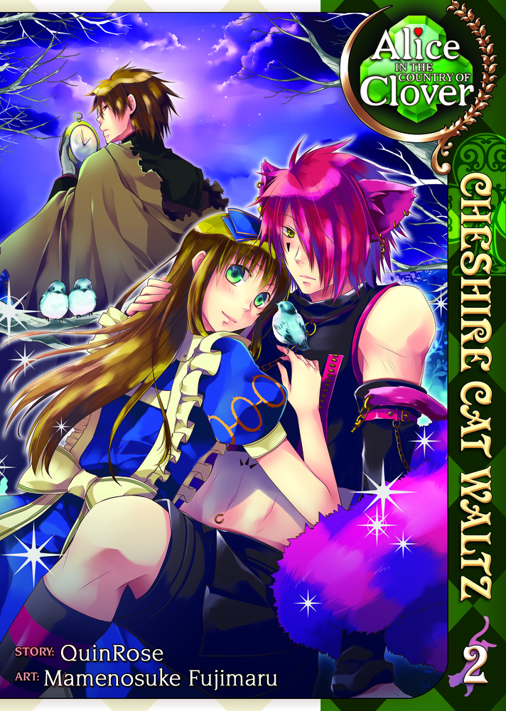Alice in the Country of Clover: Cheshire Cat Waltz Vol. 2 crusade vol 3 the master of machines