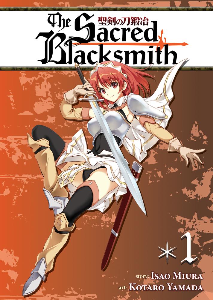 The Sacred Blacksmith Vol. 1 isao miura the sacred blacksmith vol 9