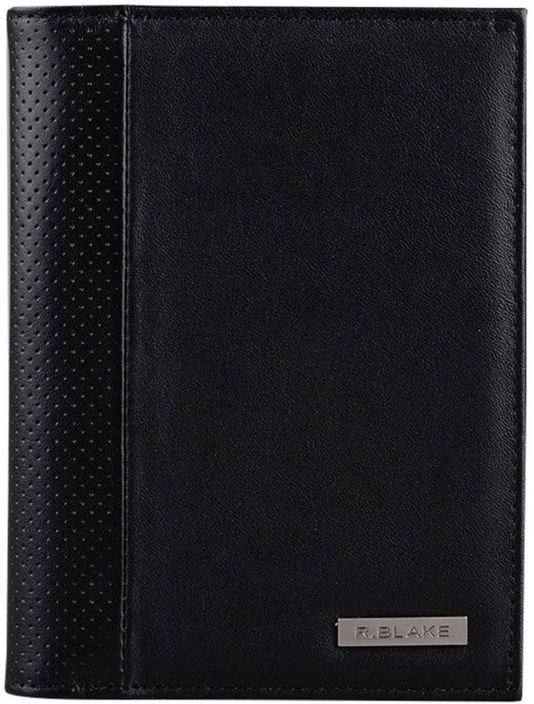 Обложка для автодокументов R.Blake Cover Mix Sport, цвет: черный. GCVM00-000000-C1401O-K101GCVM00-000000-C1401O-K101Функциональная обложка для автодокументов R.Blake изготовлена из натуральной кожи. Внутри - отделение для паспорта, 4 прорезных кармана для карт и 2 открытых кожаных кармана. Пластиковый блок на 6 карманов позволяет рационально разместить все необходимые документы, в т. ч. страховку.