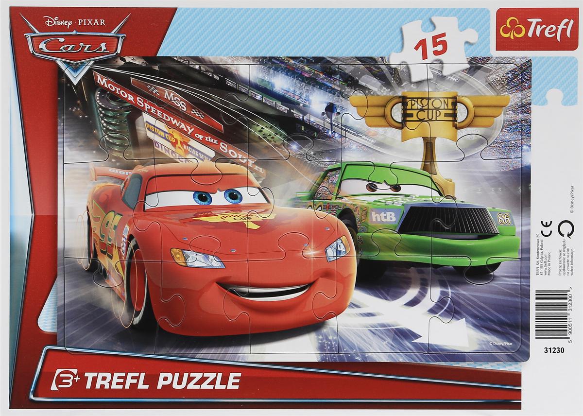 Trefl Пазл для малышей На трассе Тачки-2 simba фотокамера герои диснея тачки