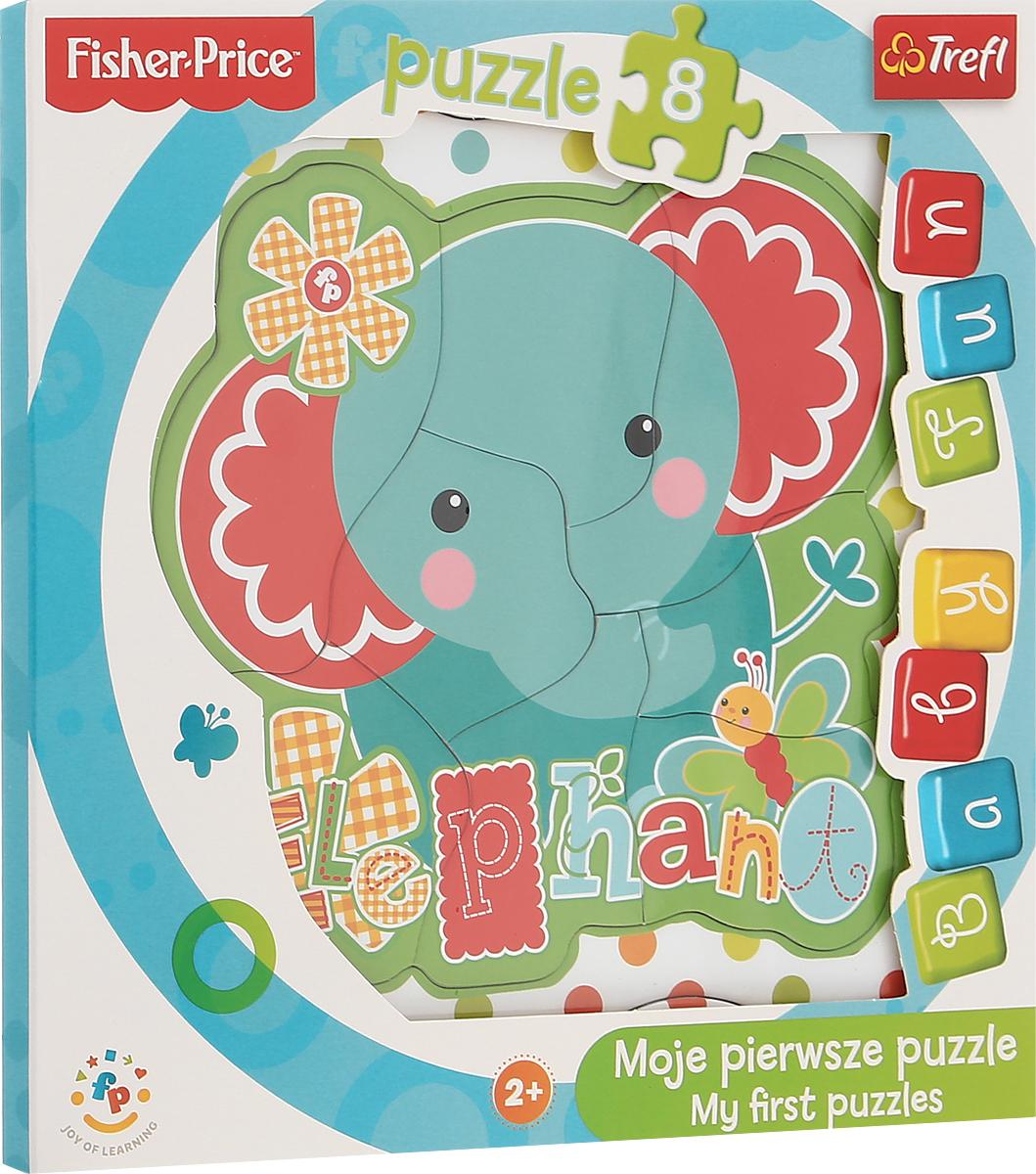 Trefl Пазл для малышей Слоненок игра настольная trefl с пазл